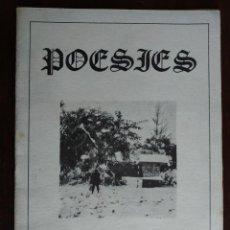 Libros: POESIES DE ARCADI MESTRES I PALOS DE SANT BOI DE LLOBREGAT.. Lote 191207677