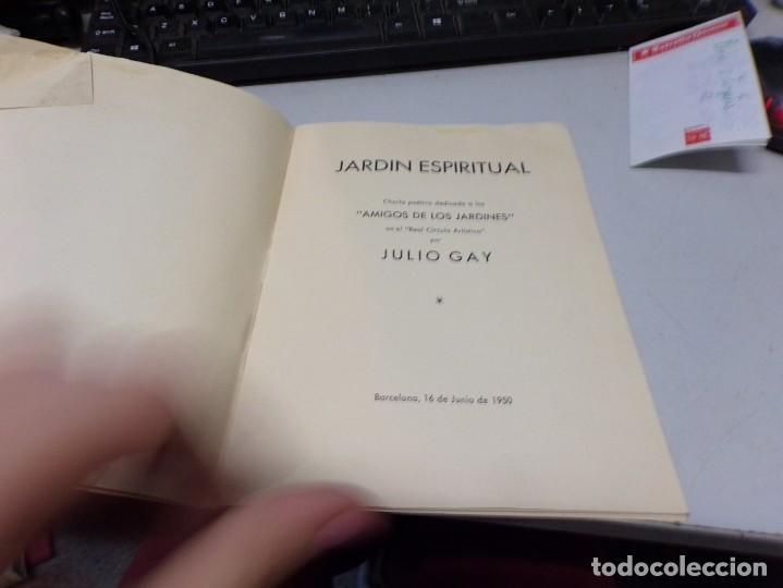 Libros: jardin espiritual - Julio Gay - Foto 2 - 191869860