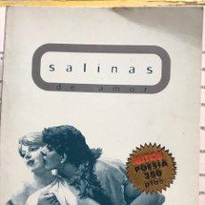 Libros: MONDADORI MITOS POESÍA SALINAS DE AMOR. Lote 194689760