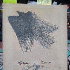 Libros: TERRORES DIURNOS. PRÓLOGO POR ENRIQUE LIHN / MANUEL SILVA ACEVEDO. Lote 195920655