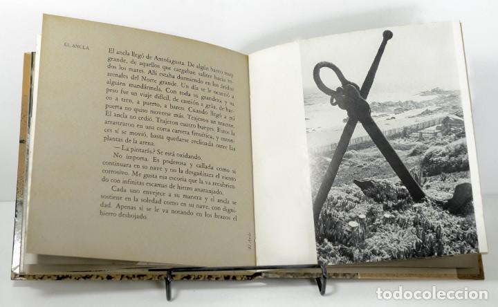 Libros: PABLO NERUDA / SERGIO LARRAÍN - UNA CASA EN LA ARENA - LUMEN - 3ª EDIC. 1984 - NUEVO - Foto 4 - 197454537
