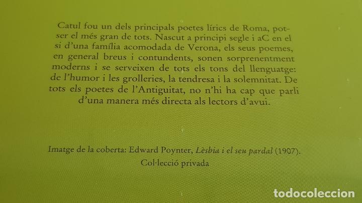 Libros: CATUL / POESIES / BERNAT METGE ESSENCIAL Nº 13 / PRECINTADO - Foto 2 - 199592486
