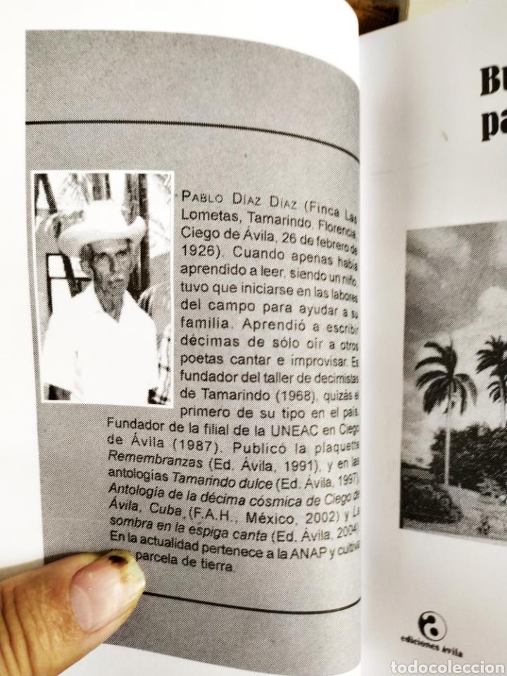 Libros: Buen tiempo para sembrar poesía de Pablo Díaz. Solo imprimio,500 ejeplares. - Foto 2 - 200197467