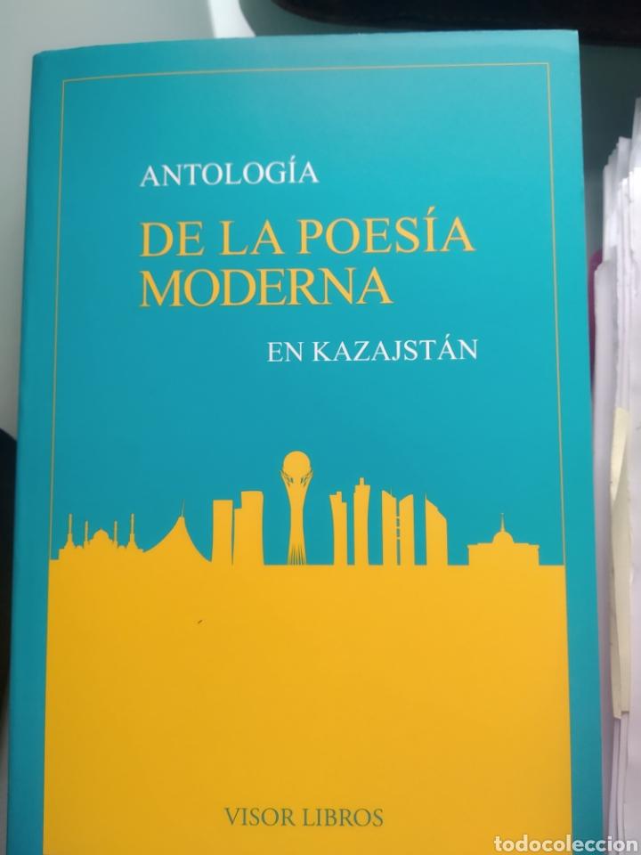 ANTOLOGÍA DE LA POESÍA MODERNA EN KAZAJSTAN (NUEVO) (Libros Nuevos - Literatura - Poesía)