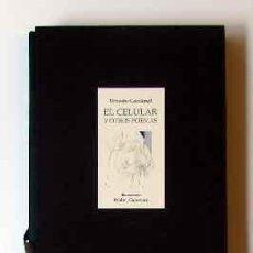 Libros: CARDENAL, ERNESTO - EL CELULAR Y OTROS POEMAS - PRIMERA EDICIÓN. Lote 202945648