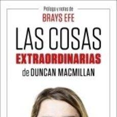 Libros: LAS COSAS EXTRAORDINARIAS. Lote 205657662