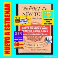 Libros: THE POET IN NEW YORK AND OTHER POEMS - POETA EN NUEVA YORK Y OTROS POEMAS - FEDERICO GARCÍA LORCA. Lote 208793798