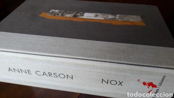 Libros: Nox Anne carson libro objeto raro coleccionista poesia - Foto 2 - 209181516