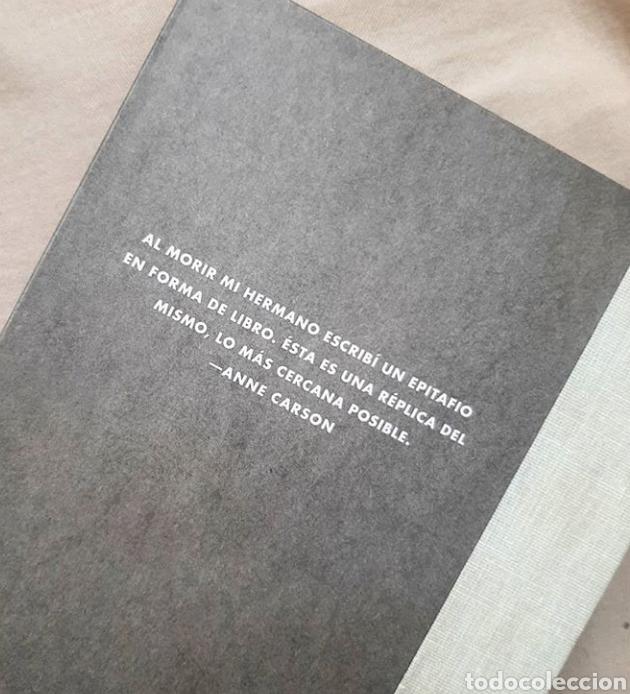 Libros: Nox Anne carson libro objeto raro coleccionista poesia - Foto 4 - 209181516