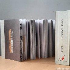 Libros: NOX ANNE CARSON LIBRO OBJETO RARO COLECCIONISTA POESIA. Lote 209181516