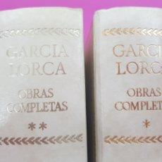 Libri: GARCIA LORCA , OBRAS COMPLETAS, AGUILAR ,.COLECCIÓN CINCUENTENARIO 1973 Y 74. Lote 209403040