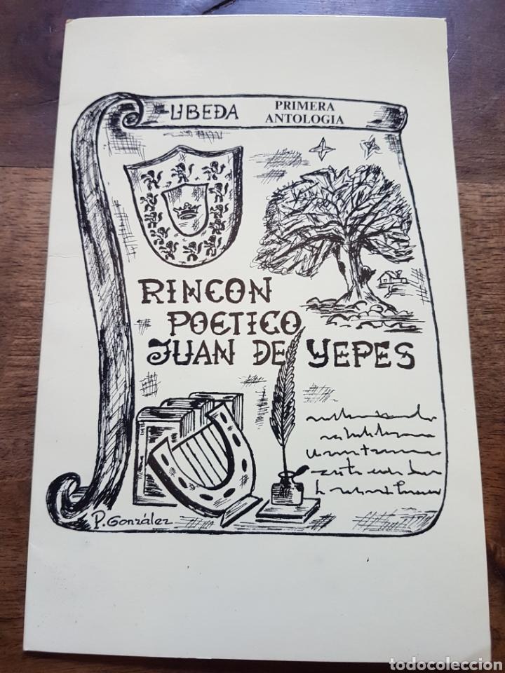 LIBRITO POESIA JUAN YEPES UBEDA ZXY (Libros Nuevos - Literatura - Poesía)