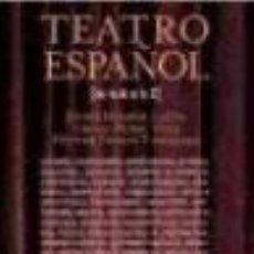 Libros: TEATRO ESPAÑOL DE LA A A LA Z. Lote 210203897