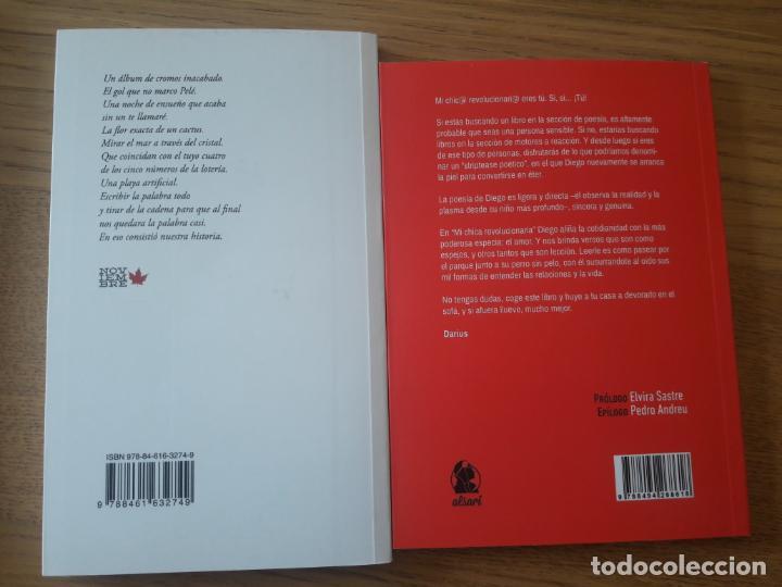 Libros: Lote de 2 libros de poesia contemporanea. Aun en catalogo. Marwan y Diego Ojeda. - Foto 2 - 210551757