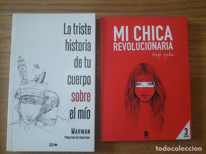 LOTE DE 2 LIBROS DE POESIA CONTEMPORANEA. AUN EN CATALOGO. MARWAN Y DIEGO OJEDA. (Libros Nuevos - Literatura - Poesía)