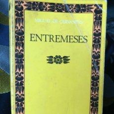 Libros: MIGUEL DE CERVANTES ENTREMESES EUGENIO ASENSIO CLASICOS CASTALIA. Lote 210803171
