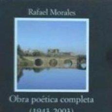 Libros: OBRA POÉTICA COMPLETA (1943-2003). Lote 211663438