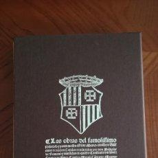 Libros: LAS OBRAS DEL FAMOSÍSIMO FILÓSOFO AUSIÀS MARCH. Lote 213637248