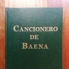 Libros: CANCIONERO DE BAENA (EDICIÓN FACSIMILAR, 2015). Lote 214079520