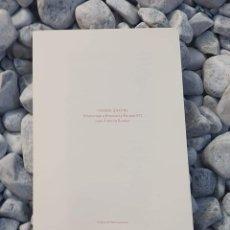 Libros: POEMA SIN FIN (HOMENAJE A BRANCUSI Y EQUIPO 57), JUAN ANTONIO BERNIER, EDICIÓN LIMITADA Y NUMERADA. Lote 215513790