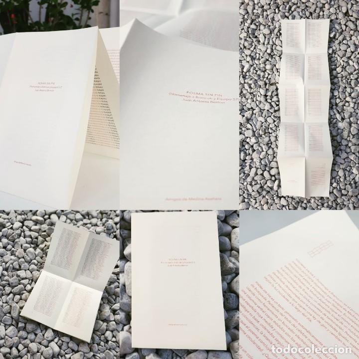 Libros: Poema sin fin (homenaje a Brancusi y Equipo 57), Juan Antonio Bernier, edición limitada y numerada - Foto 2 - 215513790