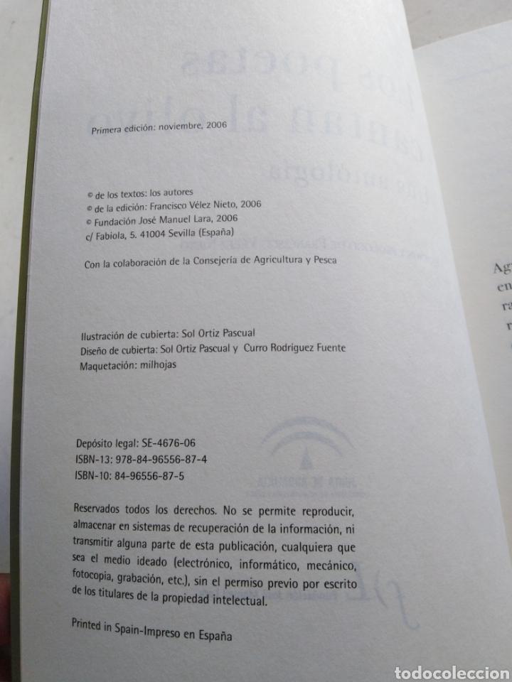 Libros: Los poetas cantan al olivo una antología - Foto 3 - 216778515