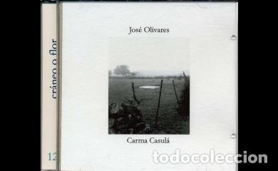 CRÁNEO O FLOR. JOSÉ OLIVARES-CARMA CASULÁ (FOTOGRAFÍAS). EL GATO GRIS. COMPACTOS DE POESÍA. (Libros Nuevos - Literatura - Poesía)