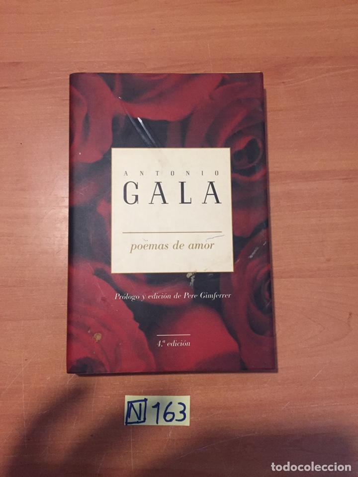 ANTONIO GALA POEMAS DE AMOR (Libros Nuevos - Literatura - Poesía)
