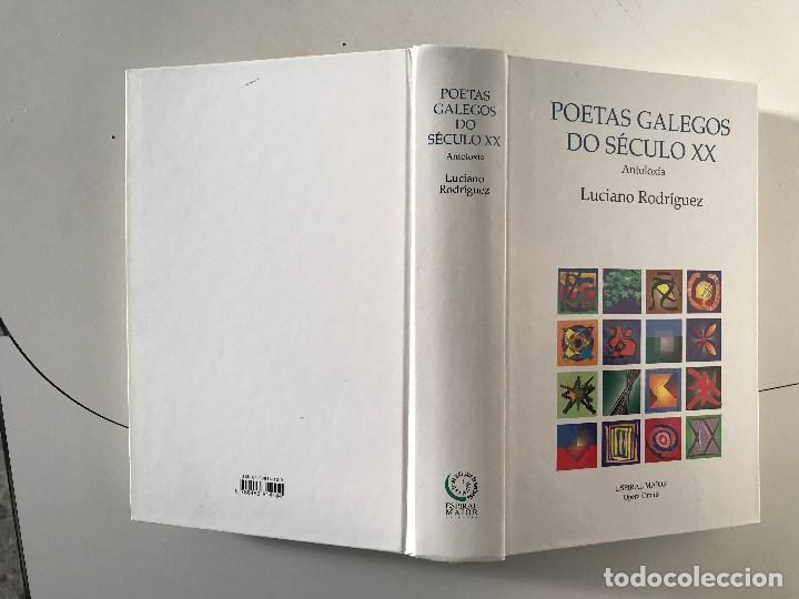Libros: Luciano Rodríguez. Poetas Galego de século XX. Galicia Poesía Espiral Maior, Opera Omnia. - Foto 3 - 218627131