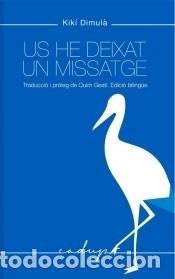 US HE DEIXAT UN MISSATGE (Libros Nuevos - Literatura - Poesía)