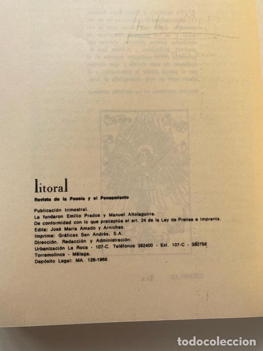 Libros: pablo picasso litoral en el centenario de su nacimiento 1881 - 1981 , segunda edición , malaga - Foto 3 - 221080570