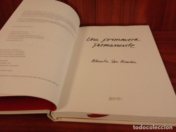 Libros: Albanta San Román & Carla Palmer - Una primavera permanente - Zenith 2019 (1ª Edición) - Nuevo - Foto 5 - 222079157