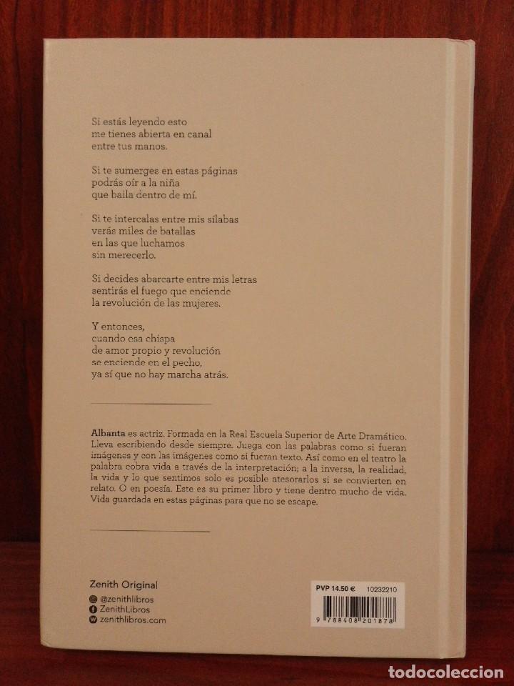Libros: Albanta San Román & Carla Palmer - Una primavera permanente - Zenith 2019 (1ª Edición) - Nuevo - Foto 10 - 222079157