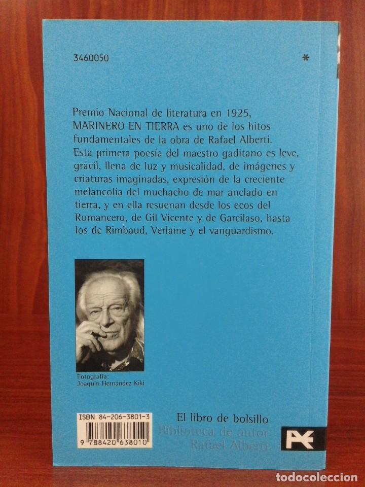 Libros: Rafael Alberti - Marinero en tierra - Alianza 2002 - Biblioteca Alberti - Nuevo - Foto 6 - 222090031