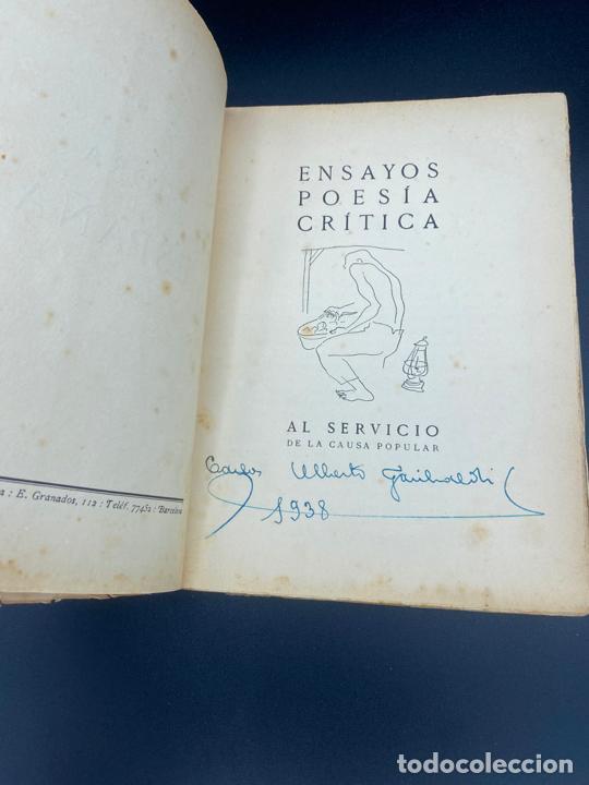 Libros: HORA DE ESPAÑA REVISTA MENSUAL , POESÍA , XIII - BARCELONA 1938 - Foto 2 - 222437056