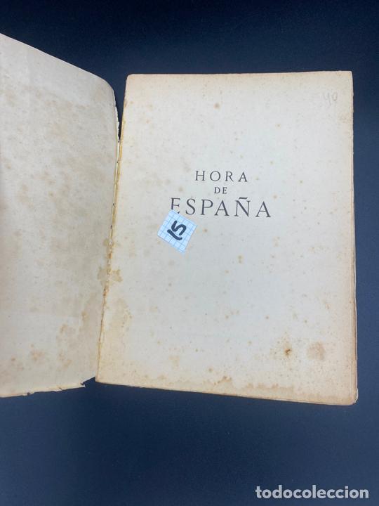 Libros: HORA DE ESPAÑA REVISTA MENSUAL , POESÍA , XIII - BARCELONA 1938 - Foto 4 - 222437056