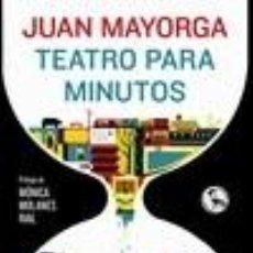 Libros: TEATRO PARA MINUTOS. Lote 227185230