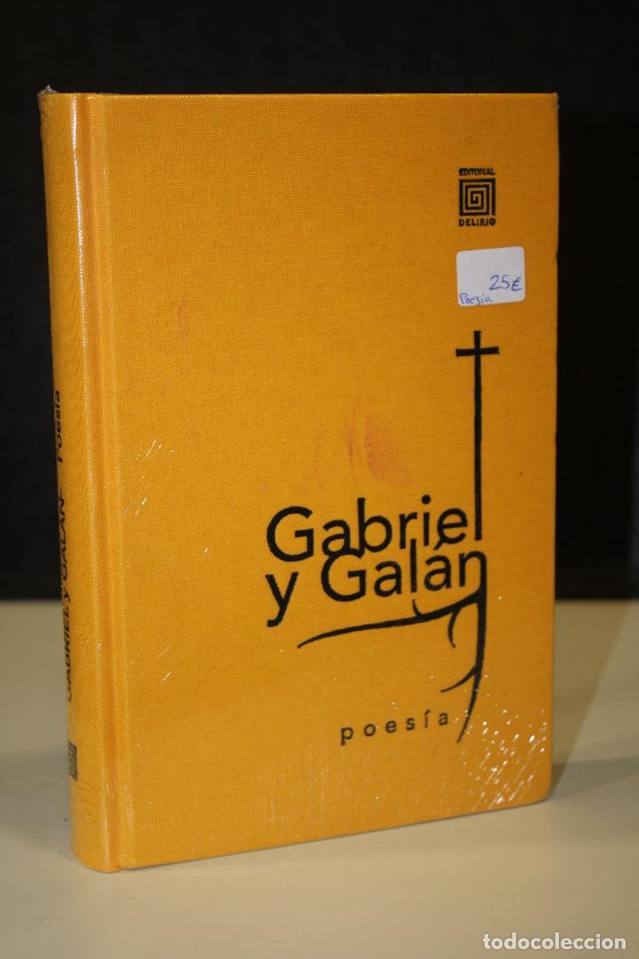 GABRIEL Y GALÁN. POESÍA. (Libros Nuevos - Literatura - Poesía)