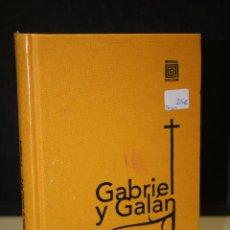Libros: GABRIEL Y GALÁN. POESÍA.. Lote 227481516