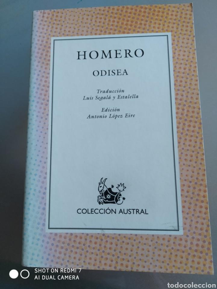 ODISEA. HOMERO. NUEVO (Libros Nuevos - Literatura - Poesía)