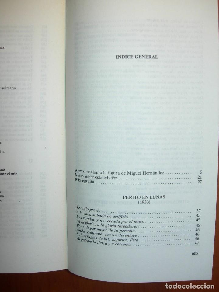 Libros: OBRA POÉTICA COMPLETA / MIGUEL HERNANDEZ - Foto 3 - 227755555