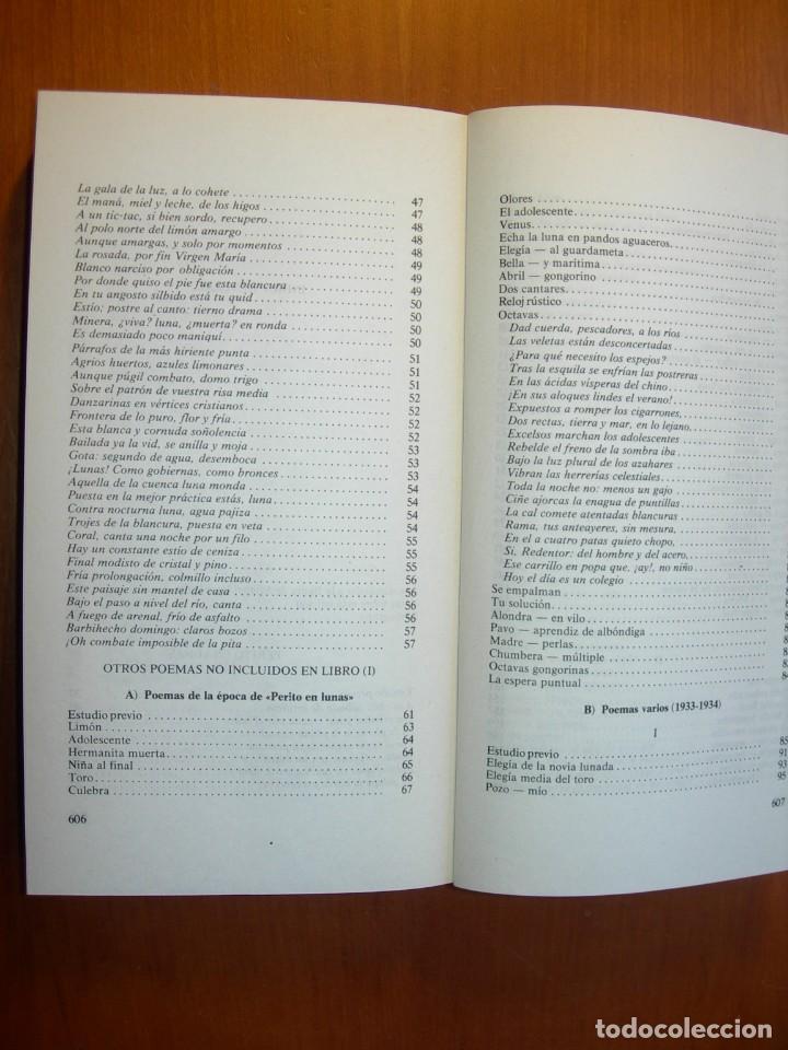 Libros: OBRA POÉTICA COMPLETA / MIGUEL HERNANDEZ - Foto 4 - 227755555