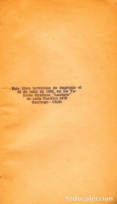 """Libros: POESÍA POLÍTICA (TOMO II) PABLO NERUDA. SIGNED: """"A MI QUERIDO AMIGO CLODO, PABLO NERUDA"""" - Foto 4 - 227777120"""