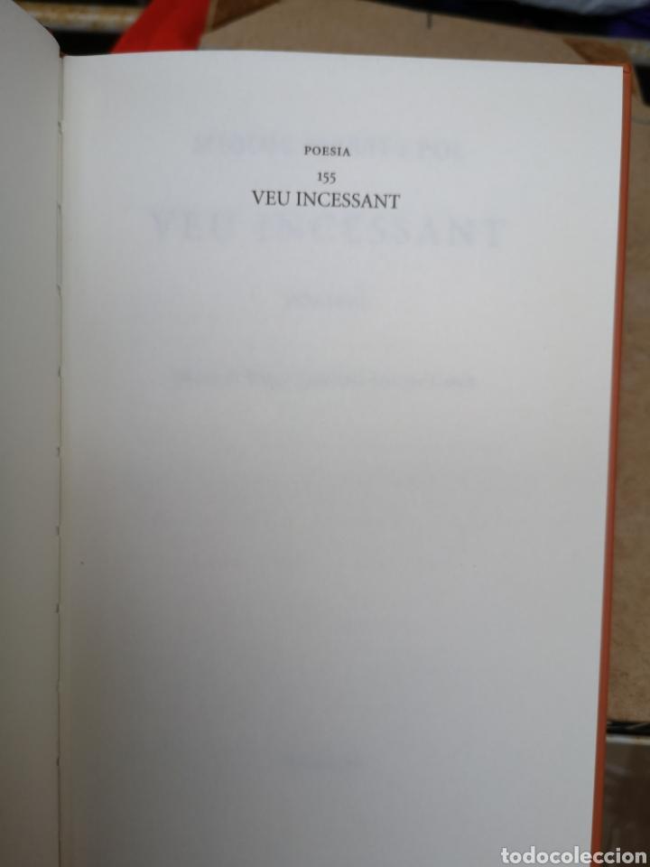 Libros: MIQUEL MARTÍ I POL. Veu incessant. Ed. Roger CANADELL, Montse Caralt. 1a ed nov. 2013 - Foto 3 - 227845275