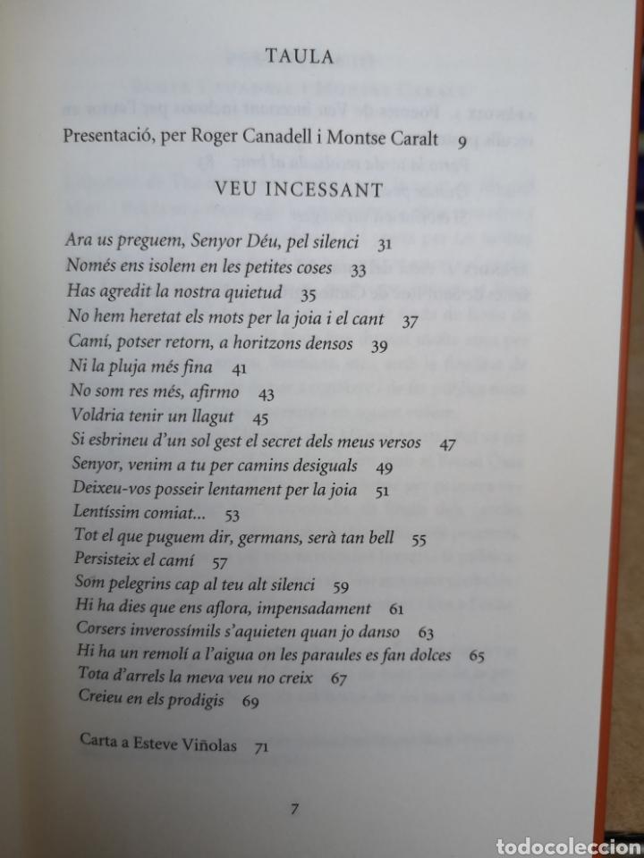 Libros: MIQUEL MARTÍ I POL. Veu incessant. Ed. Roger CANADELL, Montse Caralt. 1a ed nov. 2013 - Foto 6 - 227845275