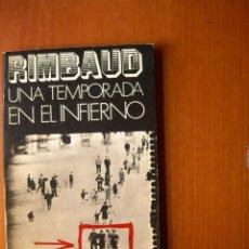 Livros: UNA TEMPORADA EN EL INFIERNO/ RIMBAUD. Lote 233022920