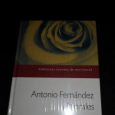Libros: ANTONIO FEDEZ. ESPACIO DE TOPACIO (POEMAS). Lote 233034165