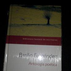 Libros: ANTOLOGÍA POÉTICA. BASILIO FDEZ.. Lote 233034505