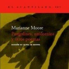 Libros: PANGOLINES, UNICORNIOS Y OTROS POEMAS. Lote 233638265