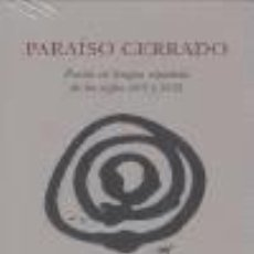 Libros: PARAISO CERRADO. Lote 233638355